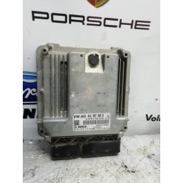 Блок управления двигателем (ЭБУ) 04L907309B VAG Б/У