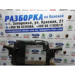 Передняя панель Skoda Fabia без кондиционера 6V0805588L