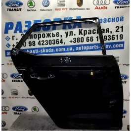 Дверь задняя правая SKODA FABIA III 6V6833312 (