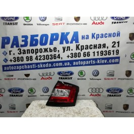 Фонарь задний правый Skoda Fabia III 6V6945096
