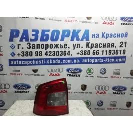 Фонарь задний левый Skoda Octavia A5 FL combi 1Z9945095A