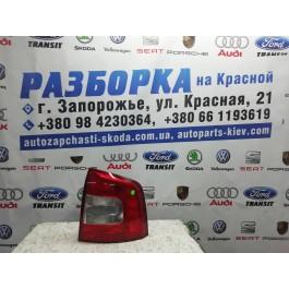 Фонарь задний правый Skoda Octavia A5 FL combi 1Z9945096A