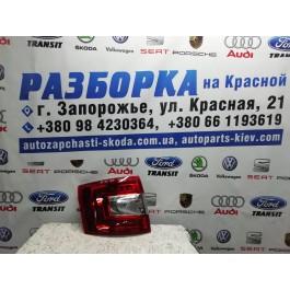 Фонарь задний правый Skoda Octavia A7 LED combi 5E9945096B