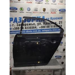 Дверь задняя левая Skoda Rapid 5JA833311