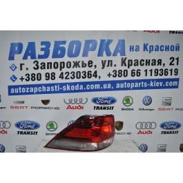 Фонарь задний левый внешний VW Golf 6 универсал 1K9945095G