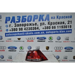 Фонарь задний правый внешний VW Golf 7 5G0945096F