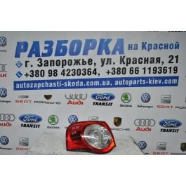 Фонарь задний левый внутренний VW Passat B6 3C9945095N