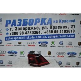 Фонарь задний правый внешний VW TIGUAN LED 5NA945208F