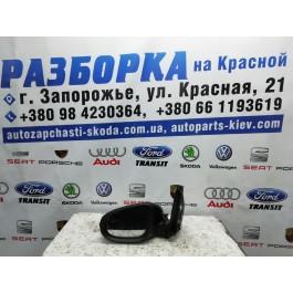 Зеркало заднего вида левое 13 пинов Volkswagen Golf 6